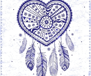 bohemian, love, and dream catcher image