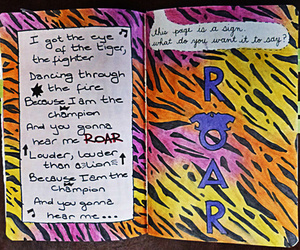 roar and wreck this journal image