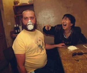 hangover, funny, and cocaine image