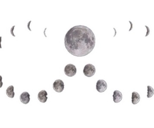 overlay, moon, and transparent image