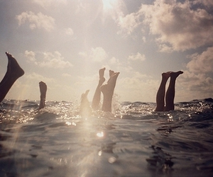 photography and swimming image