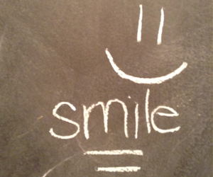 chalk, drawing, and smile image