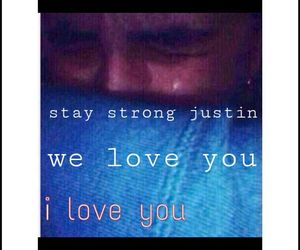 JB, justin, and staystrong image