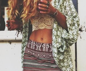 bohemian, clothes, and dress image