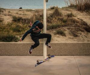 guy, skateboarding, and photography image