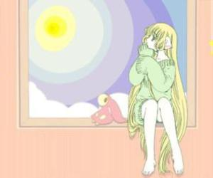 anime, chi, and chobits image
