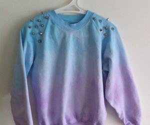 beautiful, sweater, and blue image