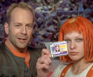 the fifth element and bruce willis image