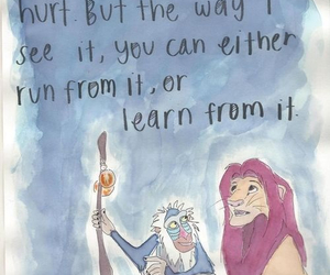 quote, life, and lion king image
