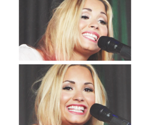 demi lovato, smile, and cute pictures. image