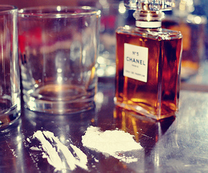 cocaine, drugs, and chanel image
