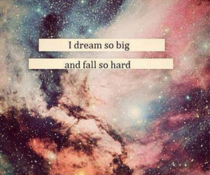 Dream, quote, and fall image