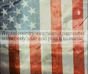 music, country, and 'murica image