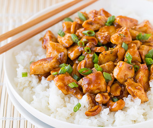 Chicken, chinese, and nuts image