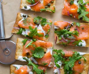 dough, fish, and salmon image