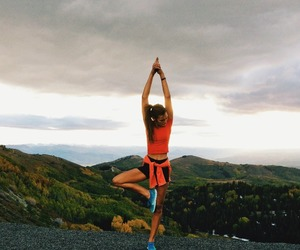 fit, yoga, and healthy image