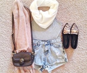 clothes, shoes, and summer image