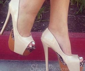 fashionable, high heel shoes, and sexy image