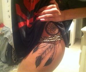 Dream, catcher, and tattoo image