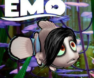 funny and emo image