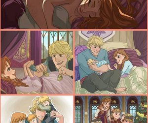 anna, cute, and kristoff image