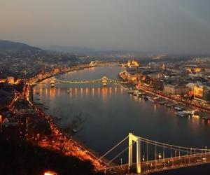 budapest, buildings, and Cityscapes image
