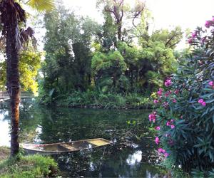abkhazia, nature, and boat image
