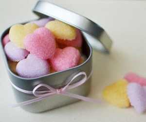 candy, food, and heart image