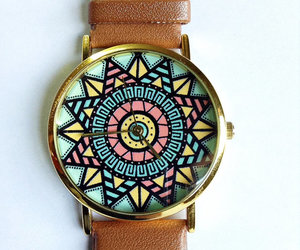 watch, cute, and aztec image