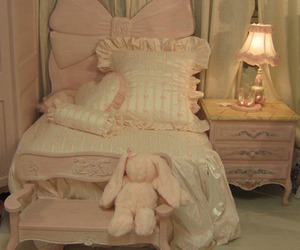 bedroom, cute, and bunny image