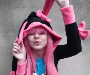 awesome, bunny, and perfect hair image