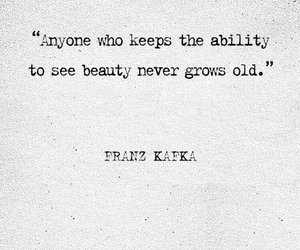beauty, quotes, and franz kafka image