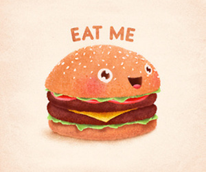 food, cute, and drawing image