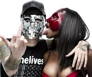 album cover, masked, and deuce image
