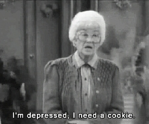 cookie and depressed image