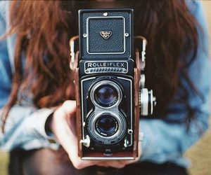 photo, vintage, and camera image