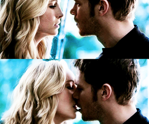 the vampire diaries, caroline forbes, and klaus image