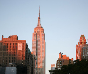 new york and empire state building image