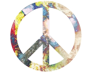 peace and vintage image