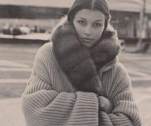 coat, sweater, and cold image