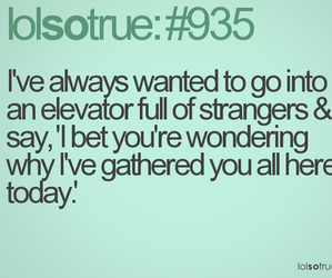 funny, text, and elevator image