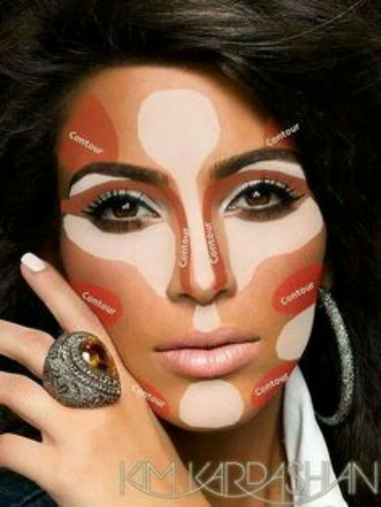 Makeup zones discovered by Luccy Lucky on We Heart It