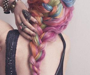+, colorful, and hair image