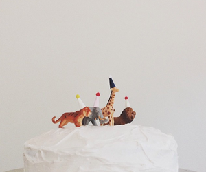 animals and cake image