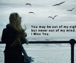 love, quote, and miss you image