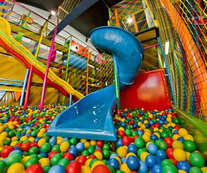 ball, fun, and ball pit image