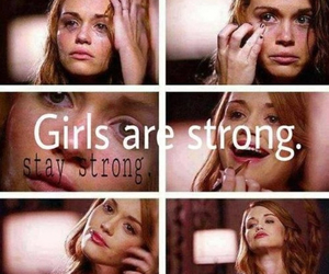 girls, lydia, and teen wolf image