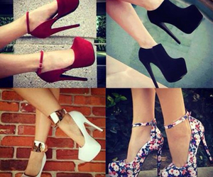 heels, cool, and shoes image