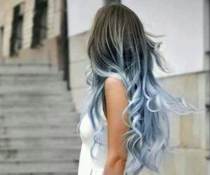 azure, hair, and sky-blue image