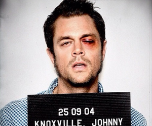 jackass, Johnny Knoxville, and love image